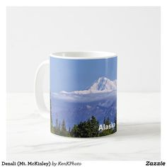 Denali (Mt. McKinley) Coffee Mug: Our latest series of products- Alaska!