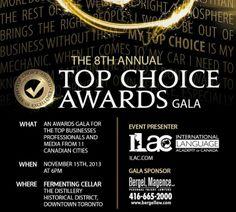 Top Choice Awards Gala