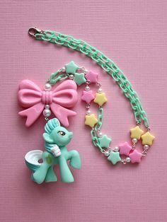 Kawaii My Little Pony Friendship Lyra Necklace from Kawaii Jewelry