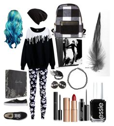 """""""School look"""" by frankoero ❤ liked on Polyvore featuring interior, interiors, interior design, home, home decor, interior decorating, Vans, Free People, Boohoo and Chanel"""