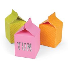 Sizzix Movers & Shapers L Die - Box, Milk Carton
