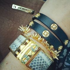 Stella and Dot #armparty Love these 3 paired together