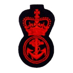 Army Officer's cap badges are gold and silver bullion wire embroidered. Hud Badges make Navy Cap Badges, Crown and Star badges in sew on variety and with Velcro backing. http://hudbadges.com/detail.php?live=1_0_0_43