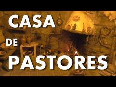 CASA DE PASTORES PARA EL BELEN - SHEPHERDS HOUSE FOR BETHLEHEM - YouTube Nativity Crafts, Christmas Villages, Fairy Houses, Holiday Crafts, Diorama, Christmas Decorations, Miniatures, Bethlehem, Case