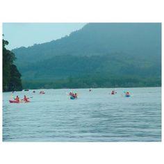Krabi - Kayaking at Ao Thalane full day tour