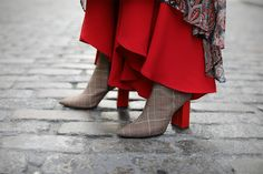 Booties: Jeffrey Campbell (also in black, bright plaid and leopard). Dress: Banana Republic paired with Zara pants. Jacket: Burberry (similar here – this jacket was one of my favorite pieces from last year as seen...Read More