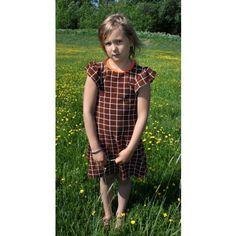 Lastenvaatteet - metsola, perhosmekko, lasten mekko, frotee, retro - Lasten Metsola Oy verkkokauppa - Lasten vaatteet