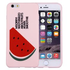 [$2.02] For iPhone 6 & 6s Embossment Watermelon Pattern TPU Protective Case