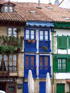 Most beautiful villags in Spain  Hondarríbia  Pais Vasco