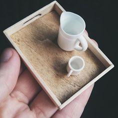 tray close-up | mini tray