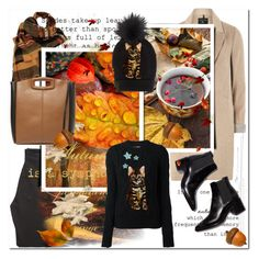 """""""ModernAutumnStyle"""" by bellamonica ❤ liked on Polyvore featuring mel, Wilsons Leather, Citizens of Humanity, Dolce&Gabbana, Maje and modern"""