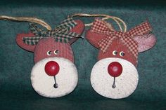 Christmas Reindeer Craft/ Ornament by tgroll on Etsy, $3.95
