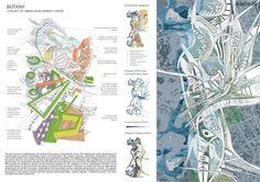 Botany. Concept of urban development centre | Leilia Sadykova – Rethinking The Future