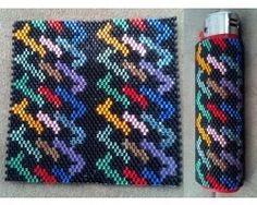 Rainbow Maze Lighter Cover-Big