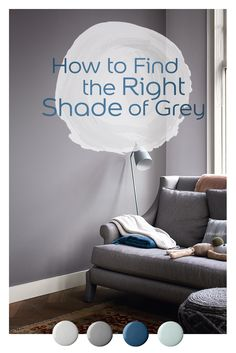 Dr Dulux's tips on how to find the right shade of grey for your home