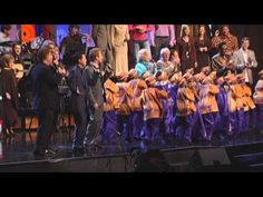 Gaither Vocal Band and African Children's Choir ~ Love Can Turn the World...every time I listen to this I almost cry because its so beautifully done.