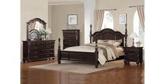 Found it at Wayfair - Townsford Four Poster Bedroom Collection Four Poster Bedroom, Bedroom Posters, Poster Beds, Master Bedroom Set, King Bedroom Sets, Queen Bedroom, Master Bathroom, King Beds, Queen Beds