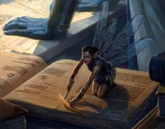 Latest MTG Art - Magic: the Gathering Art Gallery from all Sets Surreal Artwork, Fantasy Artwork, Magical Creatures, Fantasy Creatures, Magic The Gathering Sets, Mtg Art, Elves And Fairies, Fantasy Races, Magic Book