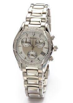 BULOVA  Ladies Chrono Diamond Bracelet Watch