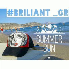 briliant_grSummer sun #greece #2016 #instagreece #briliant_gr #briliantgr #brilianthatproject #hat #artonhat #holyspirit #greece2016 #beachbar