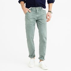 Wallace & Barnes garment-dyed carpenter jean : wallace & barnes | J.Crew