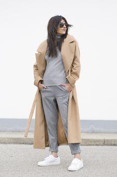 fashion-landscape.com | Cos Camel Coat, Acne Studios Sneakers, Minimal Outfit,
