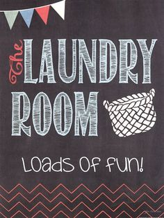 Loads of Fun Framed Art by artist Jo Moulton Laundry Icons, Laundry Shop, Laundry Symbols, Laundry Business, Decoupage Paper, Kitchen Wall Art, Office Art, Wall Signs, Diy Signs