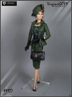 Tenue Outfit Accessoires Pour Barbie Silkstone Vintage Fashion Royalty 1127 | eBay
