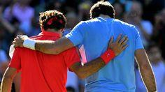 Roger #Federer vs Juan Martin #DelPotro (3/6 7/6 19-17) - #JO #Londres2012