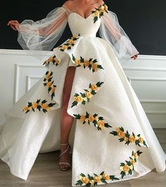 white prom dresses 2019 sweetheart neckline embroidery hand made flowers lace ba. - - white prom dresses 2019 sweetheart neckline embroidery hand made flowers lace ball gown evening dresses long arabic on Storenvy Source by Evening Dress Long, Ball Gowns Evening, Lace Ball Gowns, Ball Dresses, Evening Dresses, White Ball Gowns, Flower Dresses, Elegant Ball Gowns, Evening Gowns Online