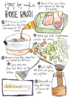 How you can make your personal bone broth. >>> See more by checking out the photo link