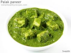 Palak paneer recipe with step by step photos. Easy recipe of paneer cooked in palak gravy. Healthy nutritious delicious dish from north Indian cuisine Palak Paneer Recipe Easy, Easy Paneer Recipes, Indian Food Recipes, Gourmet Recipes, Vegetarian Recipes, Cooking Recipes, Healthy Recipes, Indian Foods, Curry Recipes