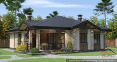 Open Concept Kitchen, Gazebo, Arch, Farmhouse, Exterior, Outdoor Structures, Buildings, House 2, Flats