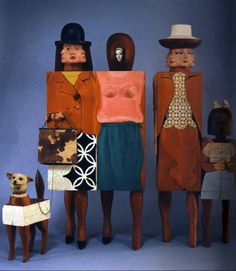 I've always really liked this piece. Marisol Escobar