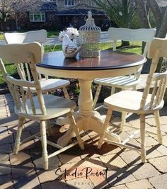 Maple Dining Set Refinishedsolid Maple Table Was Still Sturdy Interesting Maple Dining Room Table Decorating Inspiration