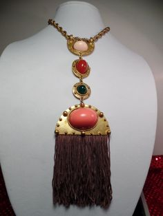 Very Rare Bill Smith of Richelieu Huge Necklace by Jewelboy