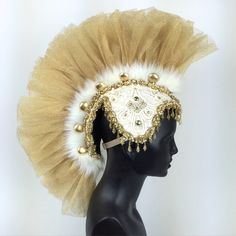 GOLD TULLE MOHAWK ht