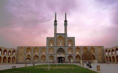 Amir Chakhmagh Mosque ( Yazd ) http://iranparadise.com/en/gallerygroup/gallery/28