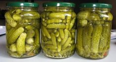 Homemade pickles without closing! Much tastier than .- Homemade pickles without closing! Much tastier than the ones bought! Granny's Recipe, Apple Jam, Homemade Pickles, Apple Slices, Grilled Meat, Fresh Herbs, Cucumber, Mashed Potatoes, Chicken Recipes