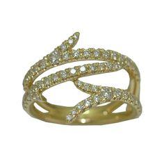0.76 Cttw. Diamond Ring in 14 Karat Yellow Gold https://www.goldinart.com/shop/rings/diamond-rings/0-76-cttw-diamond-ring-in-14-karat-yellow-gold