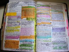 A bible falling apart probably belongs to someone who isn't...