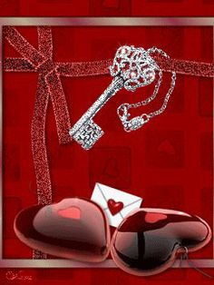 Valentine's Key To My Heart gif My Funny Valentine, Images For Valentines Day, Happy Valentines Day, Gif Pictures, Love Pictures, Pictures Images, Gifs, Love Animation Wallpaper, Flash Gif