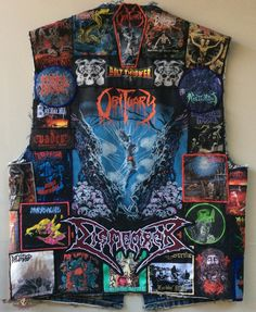 METAL SAVAGE's Obituary, Death Metal vest Battle Jacket | TShirtSlayer