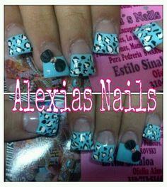 Flare nails:) Animal Nail Designs, Diy Nail Designs, Colorful Nail Designs, Gorgeous Nails, Pretty Nails, Duck Tip Nails, Pedicure, So Nails, Jersey Nails