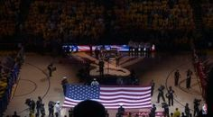 It Doesn't Get Much More American Than Metallica's Metal National Anthem at NBA Finals