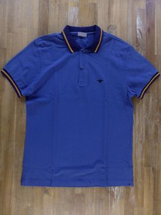 auth DIOR HOMME fly embrodied blue polo shirt - Size Large L - NWOT | Clothing, Shoes & Accessories, Men's Clothing, Casual Shirts | eBay!