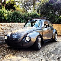 '73 Super Beetle, love that extended front end