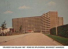 Vrijheer van Eslaan Papendrecht (jaartal: 1960 tot 1970) - Foto's SERC Vrijheer van Eslaan met de oplevering van de Sterflat 1967