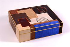 Marquetry box by Christine Meyer-Eaglestone