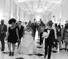 Kelsey and Ayanna found love online. And now, six years after their very first kiss, the two were joined together at DC's very own Mayflower Hotel. {pure Utterance Photography}